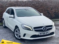USED 2016 66 MERCEDES-BENZ A-CLASS 1.6 A 180 SPORT PREMIUM PLUS 5d 121 BHP PANROMIC SUNROOF, ONLY 10,853 MILES, AUTOMATIC
