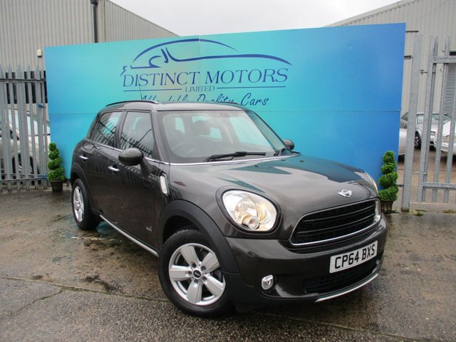 USED 2014 64 MINI COUNTRYMAN 2.0 COOPER D ALL4 5d 110 BHP