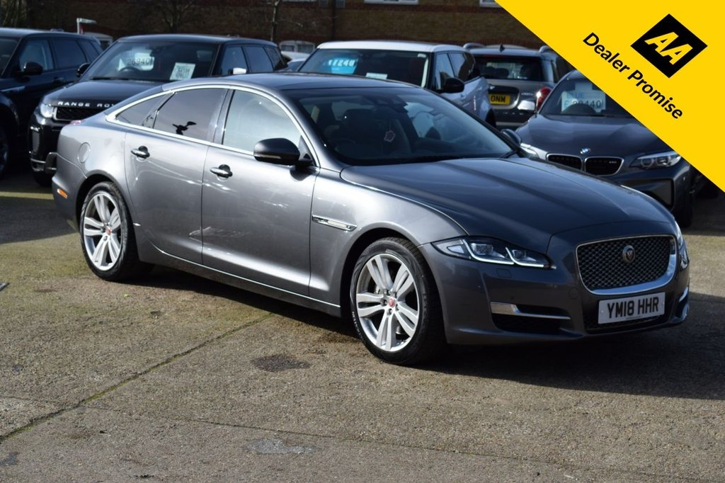 USED 2018 18 JAGUAR XJ 3.0 D V6 PREMIUM LUXURY 4d 296 BHP