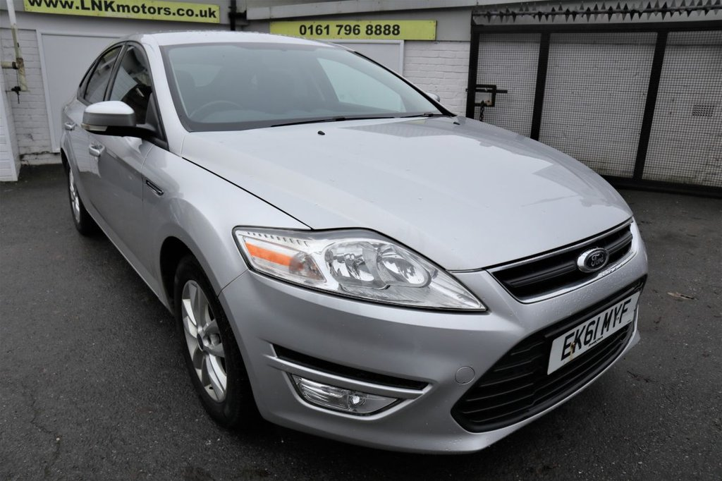 USED 2011 61 FORD MONDEO 2.0 ZETEC TDCI 5d 161 BHP *CLICK & COLLECT OR DELIVERY