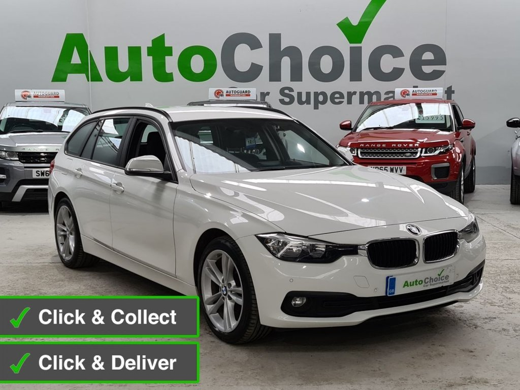 USED 2016 66 BMW 3 SERIES 2.0 316D SE TOURING 5d 114 BHP