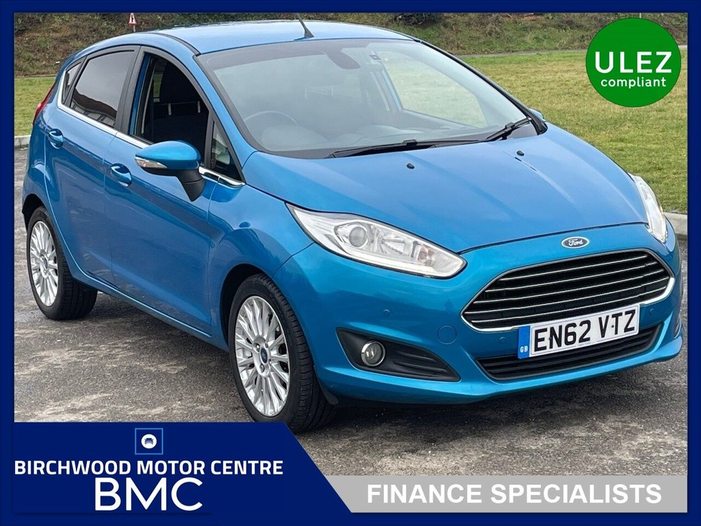 USED 2013 62 FORD FIESTA 1.0 TITANIUM 5d 124 BHP. SERVICE HISTORY AVAILABLE!!!