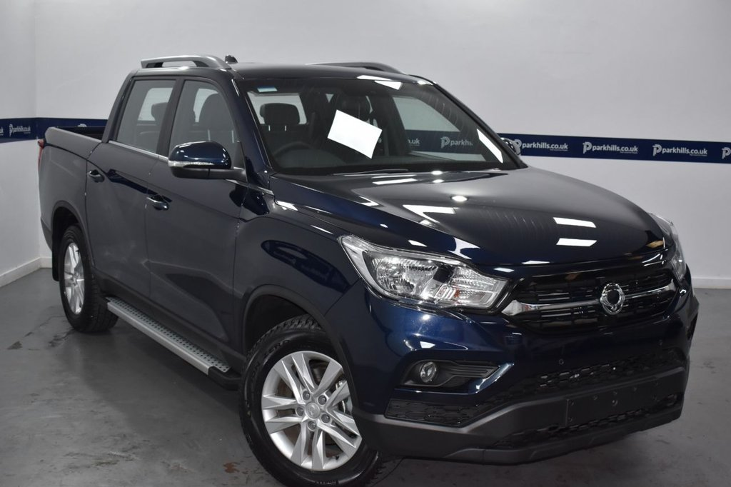 USED 2021 70 SSANGYONG MUSSO SARACEN  AUTO 180 BHP (xx SAVE OVER £4600 xx)