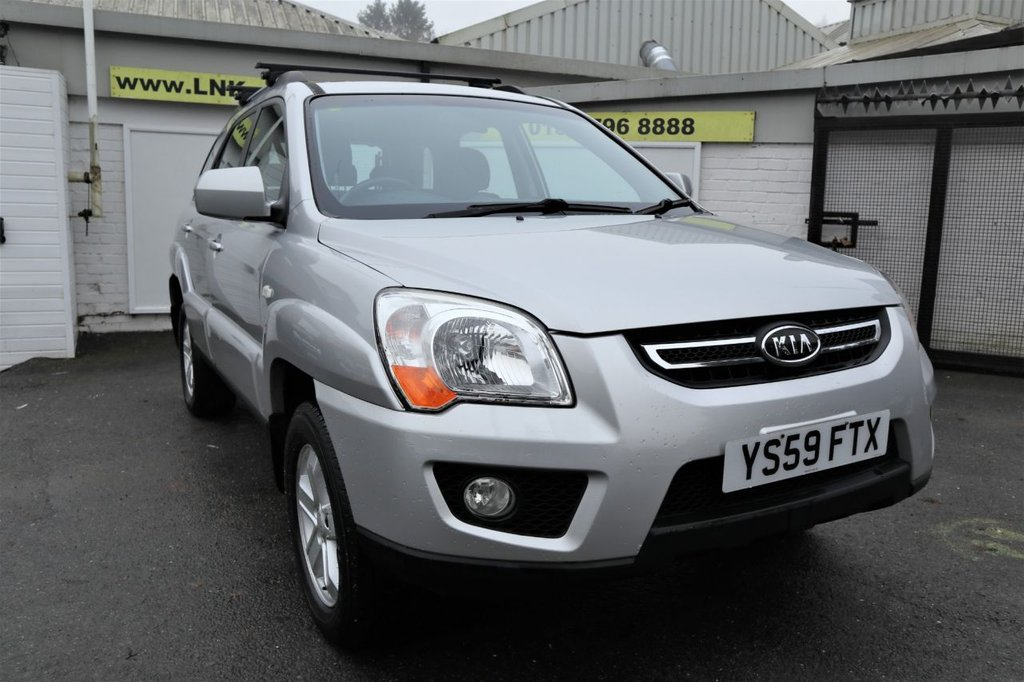 USED 2009 59 KIA SPORTAGE 2.0 XE CRDI 5d 138 BHP *CLICK & COLLECT OR DELIVERY