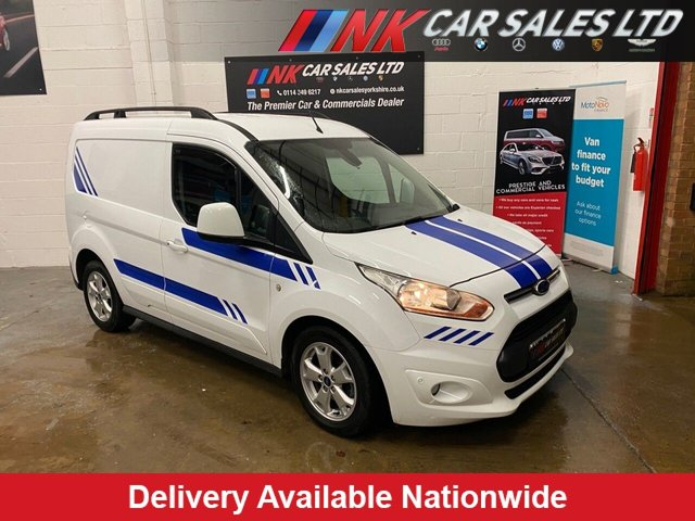 2015 65 FORD TRANSIT CONNECT 1.6L 200 LIMITED P/V 0d 114 BHP NO VAT THREE SEATER AIR CON HEATED SEATS  FULL SERVICE HISTORY SOLD