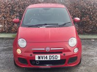 USED 2014 14 FIAT 500 1.2 S 3d 69 BHP * 12 MONTHS AA BREAKDOWN COVER * 12 MONTHS MOT *