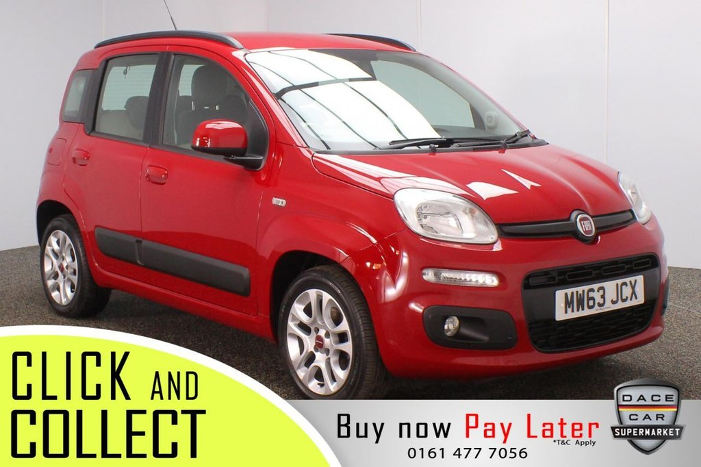 USED 2014 63 FIAT PANDA 1.2 LOUNGE 5DR 69 BHP + LOW MILES SERVICE HISTORY + £30 12 MONTHS ROAD TAX + RADIO/CD + AIR CONDITIONING + ELECTRIC WINDOWS + ELECTRIC MIRRORS + 15 INCH ALLOY WHEELS