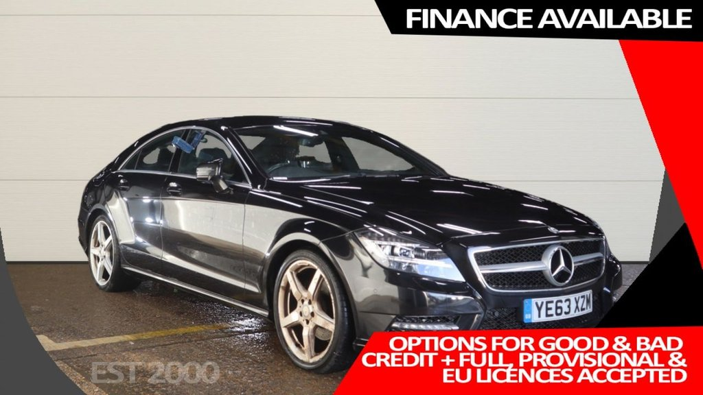 USED 2013 63 MERCEDES-BENZ CLS CLASS 2.1 CLS250 CDI BLUEEFFICIENCY AMG SPORT 4d 204 BHP * 5 MAIN DEALER SERVICE STAMPS *