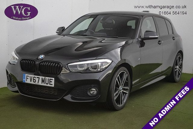 USED 2017 67 BMW 1 SERIES 2.0 118D M SPORT SHADOW EDITION 5d 147 BHP