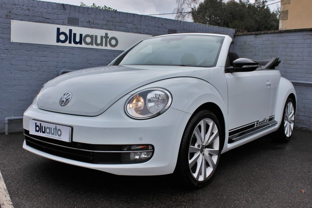 USED 2015 15 VOLKSWAGEN BEETLE 1.4 SPORT TSI BLUEMOTION TECHNOLOGY 2d 148 BHP Full Service History, Front & Rear Sensors, Dual Climate Control, DAB Radio, Bluetooth Connectivity