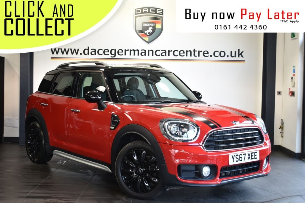 USED 2017 67 MINI COUNTRYMAN 1.5 COOPER [CHILI PACK] 5DR 134 BHP