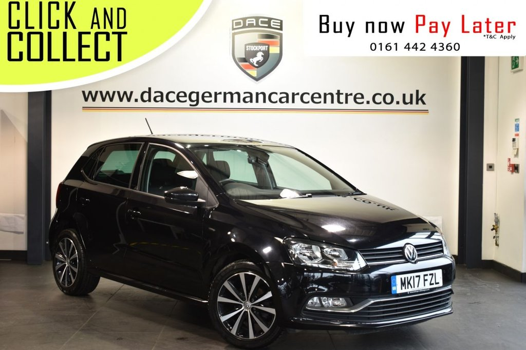 USED 2017 17 VOLKSWAGEN POLO 1.2 MATCH EDITION TSI 5DR 89 BHP