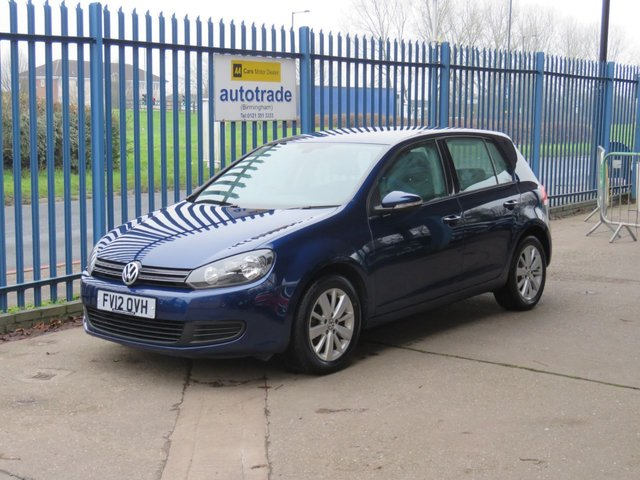 USED 2012 12 VOLKSWAGEN GOLF 1.6 MATCH TDI 5d 103 BHP £30 Road Tax & Great Fuel Economy