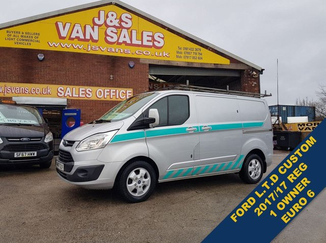 USED 2017 17 FORD TRANSIT CUSTOM 2.0 270 LIMITED LR P/V 130 bhp EURO 6 1 OWNER  BIG STOCK EURO 6 OVER VANS OVER 100 ON SITE