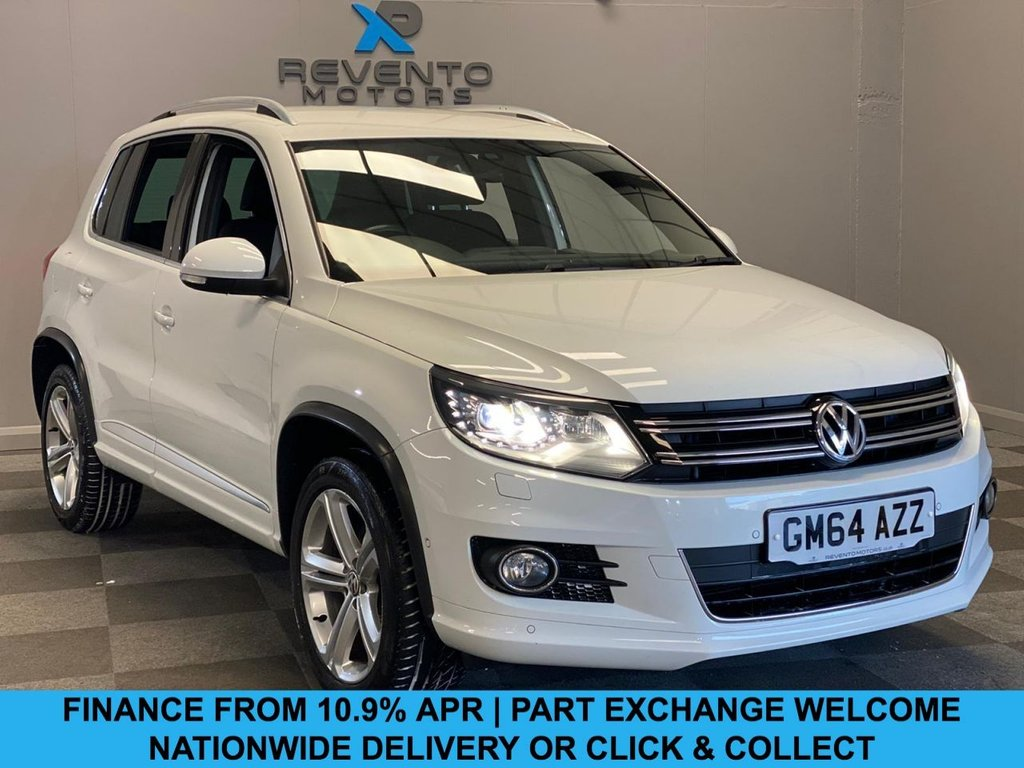USED 2015 64 VOLKSWAGEN TIGUAN 2.0 R LINE TDI BLUEMOTION TECH 4MOTION DSG 5d 139 BHP CLICK/COLLECT | NATIONWIDE DELIVERY