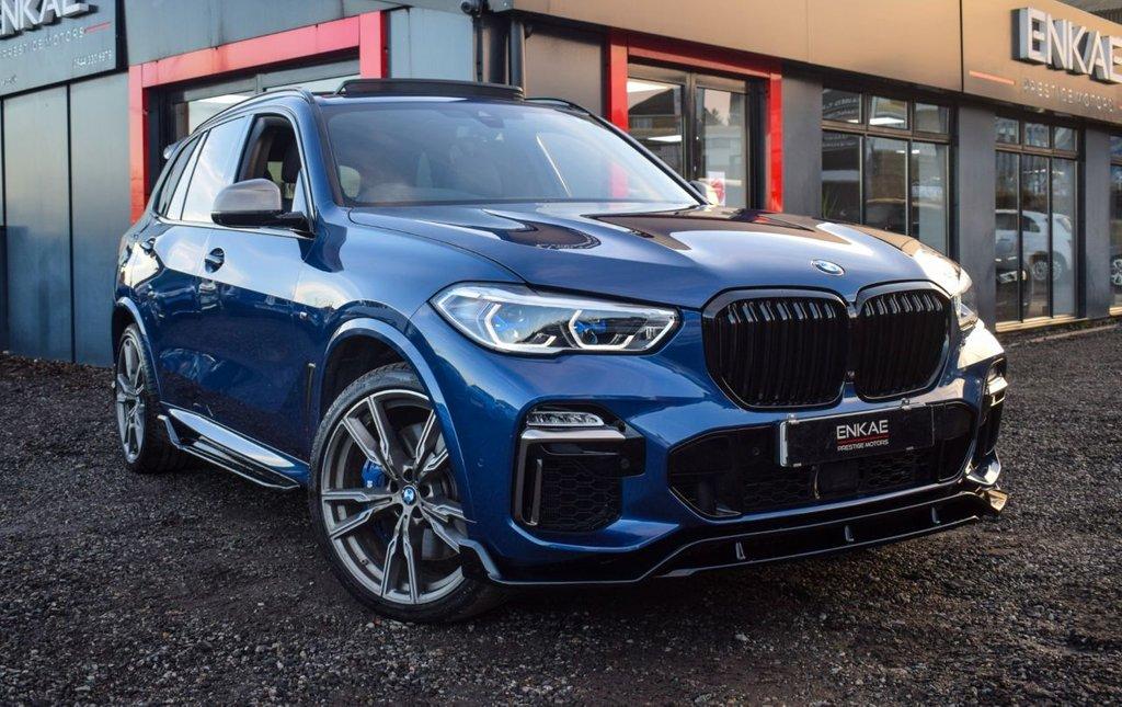 USED 2019 19 BMW X5 3.0 M50D 5d 395 BHP