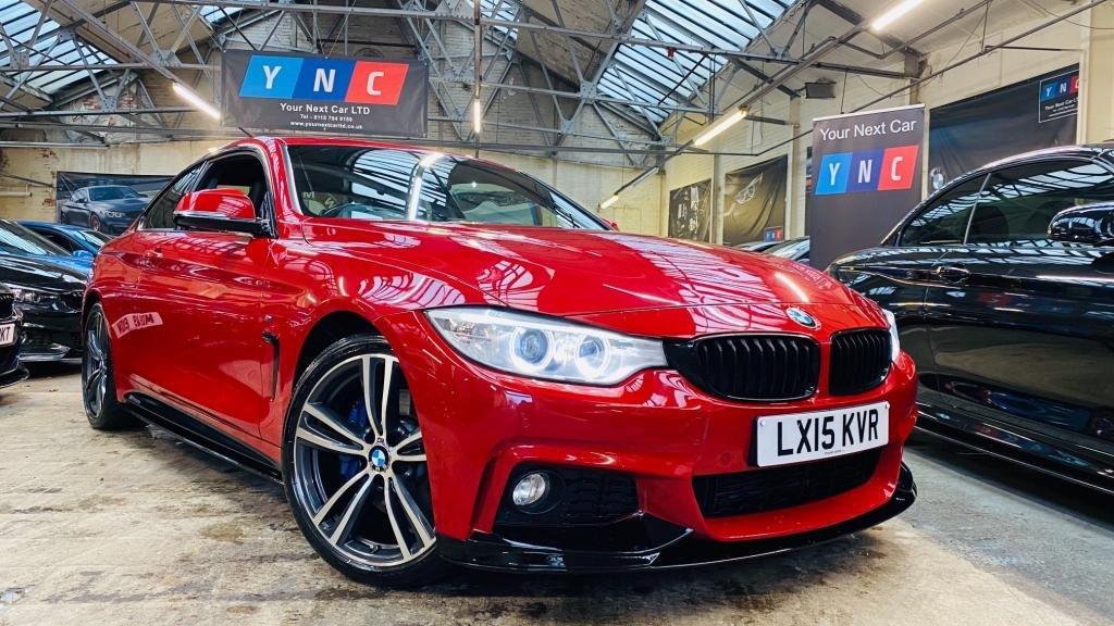 USED 2015 15 BMW 4 SERIES 2.0 420d M Sport Auto 2dr PERFORMANCEKIT+MPLUSPACK+19S