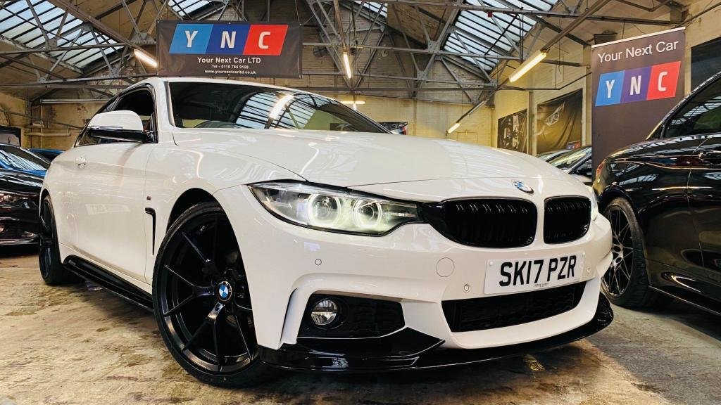 USED 2017 17 BMW 4 SERIES 2.0 420i M Sport (s/s) 2dr PERFORMANCEKIT+20S+FACELIFT