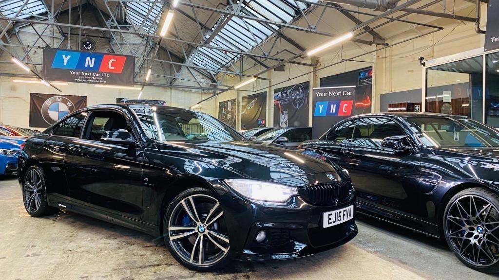 USED 2015 15 BMW 4 SERIES 3.0 430d M Sport Auto xDrive 2dr PERFORMANCEKIT+MPLUSPACK+19S