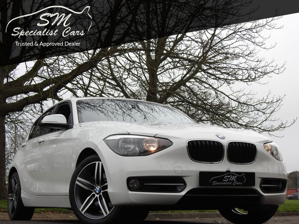 USED 2012 12 BMW 1 SERIES 2.0 120D SPORT 5d 181 BHP ONLY 87K A/C 50 MPG VGC