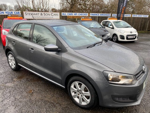 USED 2011 11 VOLKSWAGEN POLO 1.2 SE 5d 70 BHP CHEAP CAR WITH LOW TAX