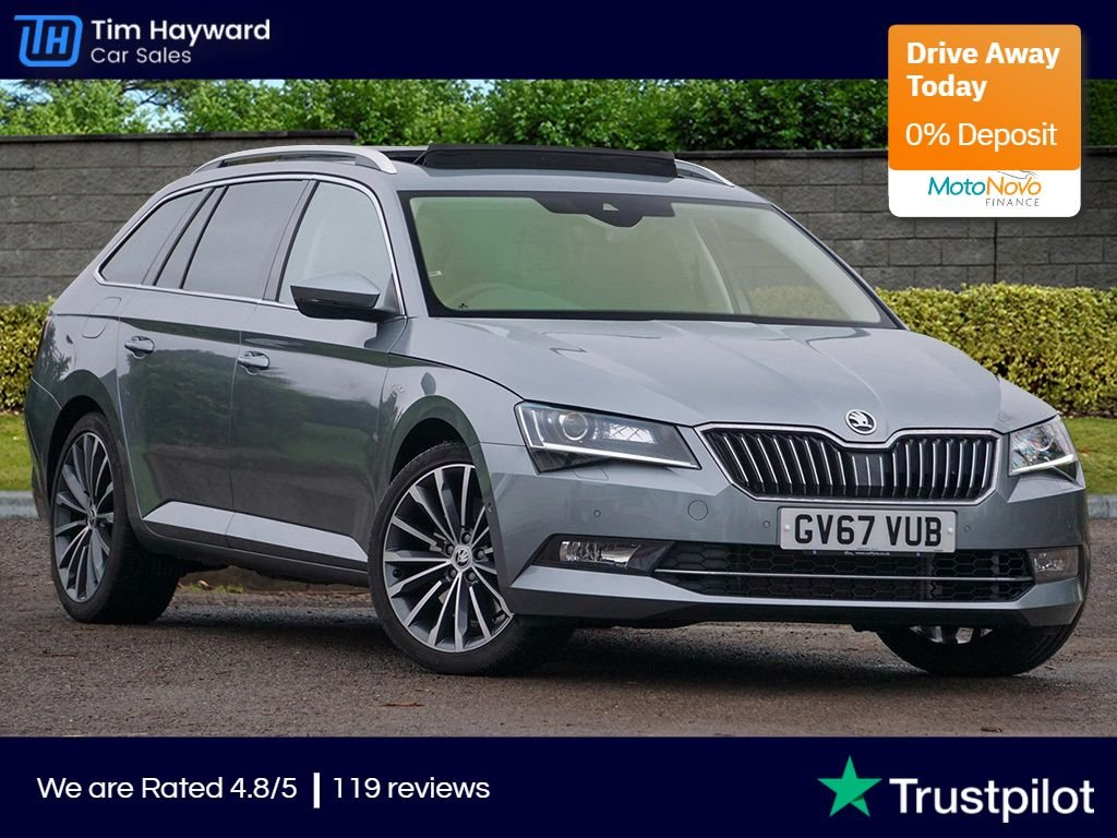 USED 2017 67 SKODA SUPERB 2.0 LAURIN AND KLEMENT TSI DSG 5d 276 BHP