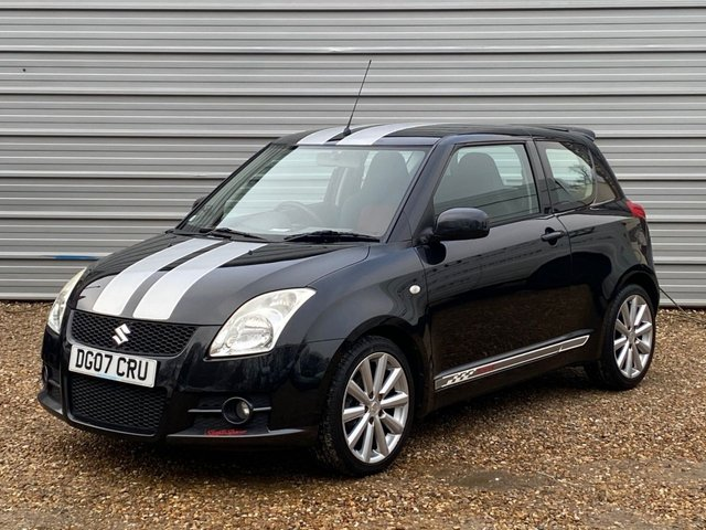USED 2007 07 SUZUKI SWIFT 1.6 SPORT 3d 124 BHP Just Arrived ..59,000miles