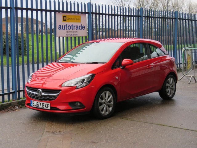 USED 2017 67 VAUXHALL CORSA 1.4 ENERGY AC 3d 74 BHP 1 Lady Owner & Vauxhall Service History