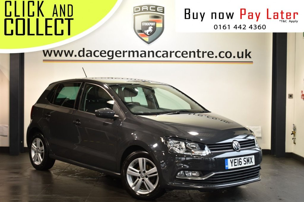 USED 2016 16 VOLKSWAGEN POLO 1.4 MATCH TDI 5DR 74 BHP