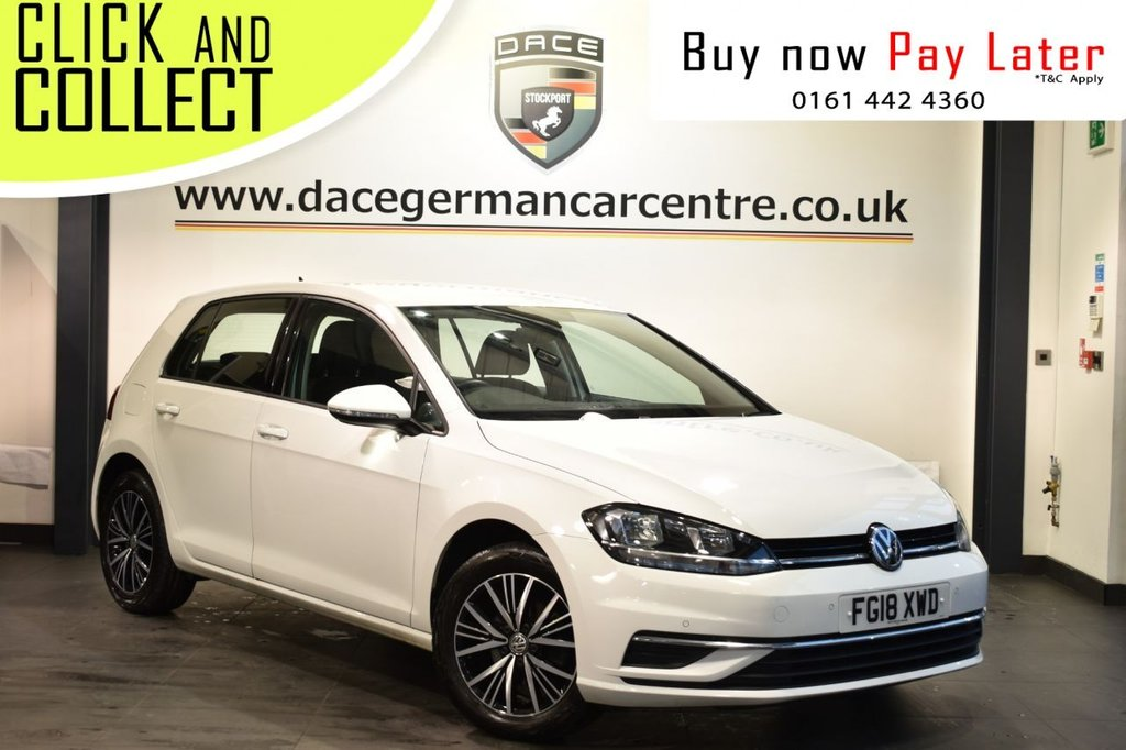 USED 2018 18 VOLKSWAGEN GOLF 1.0 SE NAVIGATION TSI BLUEMOTION TECHNOLOGY 5DR 109 BHP