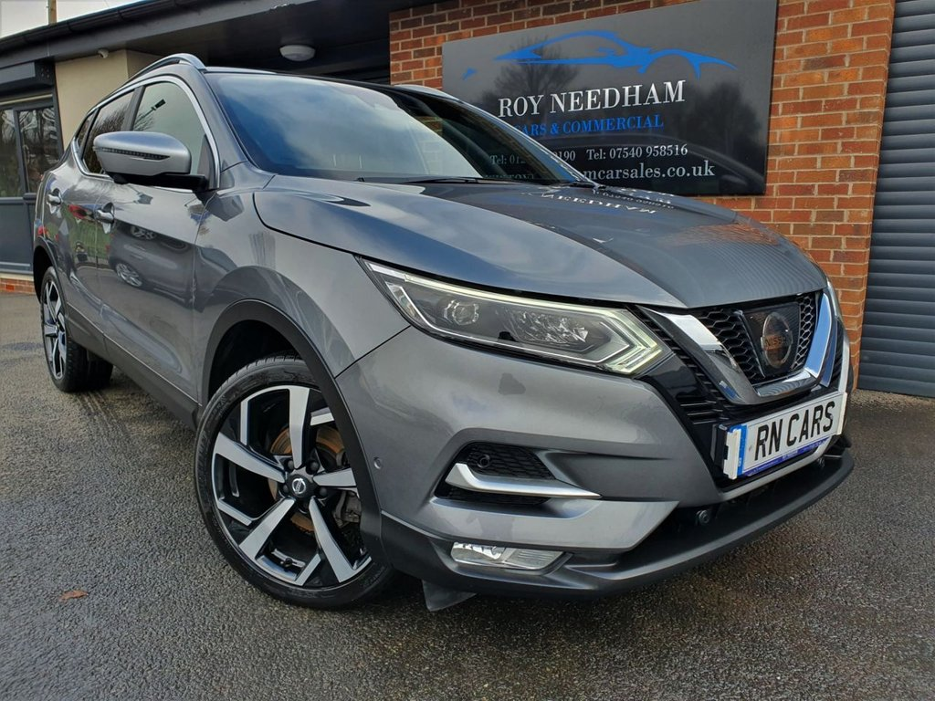 USED 2017 67 NISSAN QASHQAI 1.6 DCI TEKNA PLUS 4WD 5DR 128 BHP * HUGE SPEC - CLICK AND COLLECT *