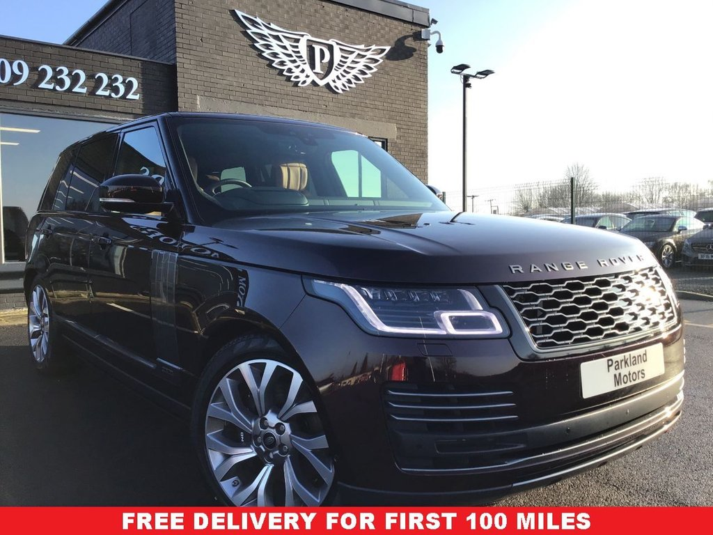 USED 2020 70 LAND ROVER RANGE ROVER 2.0 AUTOBIOGRAPHY 5d 399 BHP