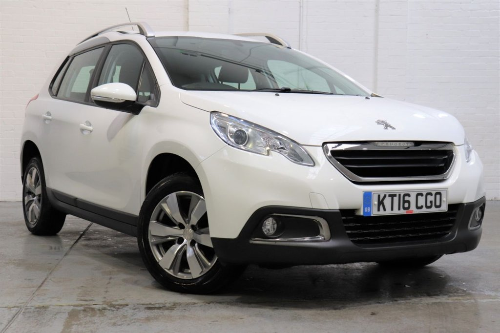 USED 2016 16 PEUGEOT 2008 1.6 BLUE HDI S/S ACTIVE 5d 100 BHP 1 Owner + Full Service History