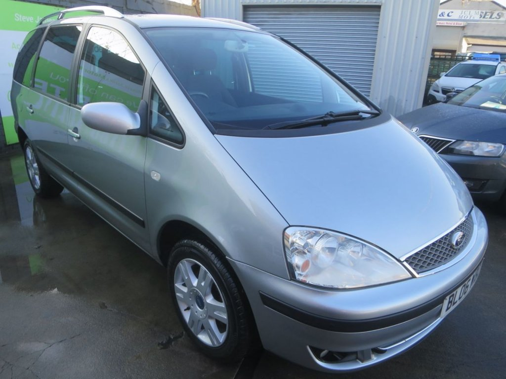 USED 2006 06 FORD GALAXY 1.9 GHIA TDDI 5d 130 BHP
