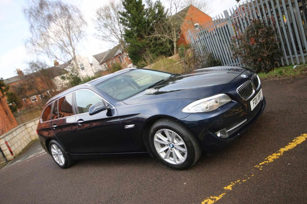 USED 2011 11 BMW 5 SERIES 2.0 520D SE TOURING 5d 181 BHP AUTO NO DEPOSIT FINANCE + 3 KEEPERS + GREAT HISTORY + VALUE