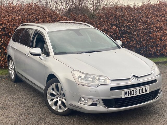 USED 2008 08 CITROEN C5 2.7 EXCLUSIVE HDI 5d 200 BHP * 12 MONTHS AA BREAKDOWN COVER * FULL LEATHER INTERIOR *