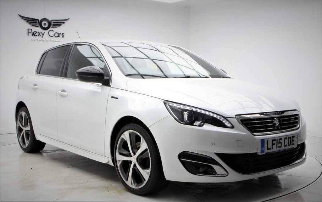 USED 2015 15 PEUGEOT 308 1.6 HDI S/S GT LINE 5d 115 BHP