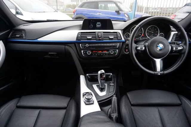 USED 2015 15 BMW 3 SERIES 2.0 320D XDRIVE M SPORT 4d 181 BHP GREAT EXAMPLE , FULL DEKOTA LEATHER UPHOLSTERY
