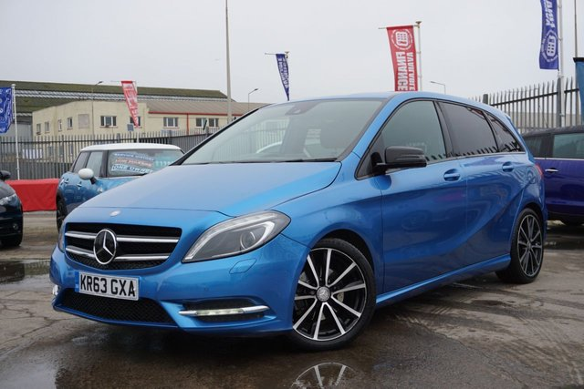 USED 2013 63 MERCEDES-BENZ B-CLASS 1.8 B200 CDI BLUEEFFICIENCY SPORT 5d 136 BHP GREAT LOW MILEAGE EXAMPLE , STUNNING COLOUR