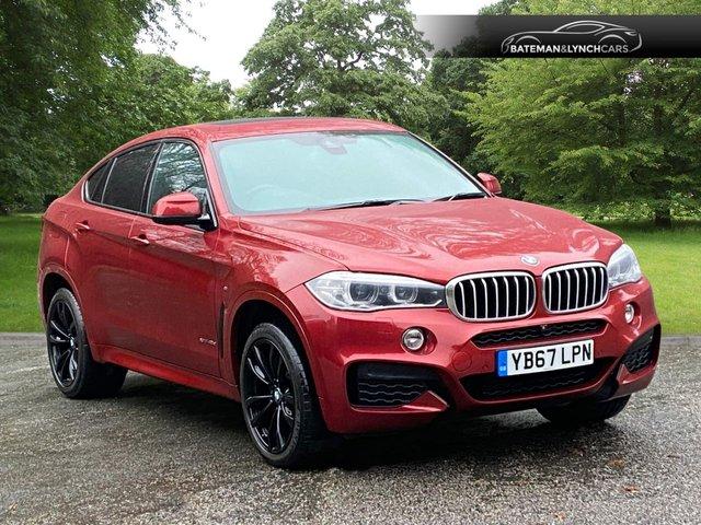 2018 67 BMW X6 3.0 XDRIVE40D M SPORT 4d 309 BHP
