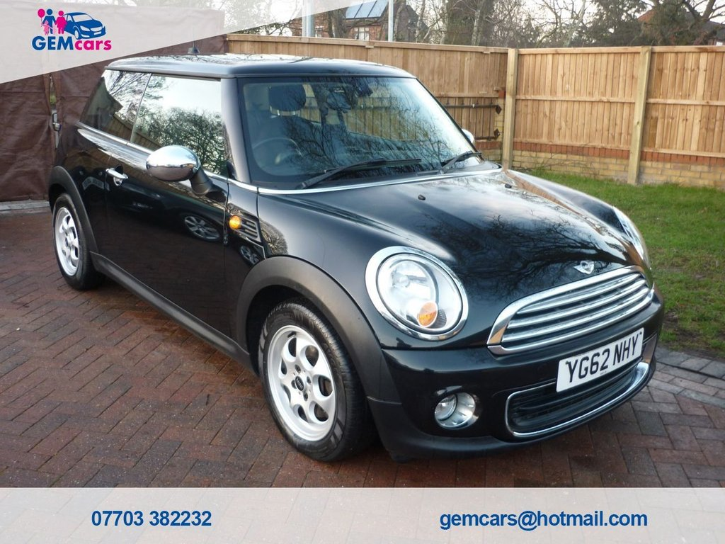 USED 2012 62 MINI HATCH ONE 1.6 ONE 3d 98 BHP GO TO OUR WEBSITE TO WATCH A FULL WALKROUND VIDEO