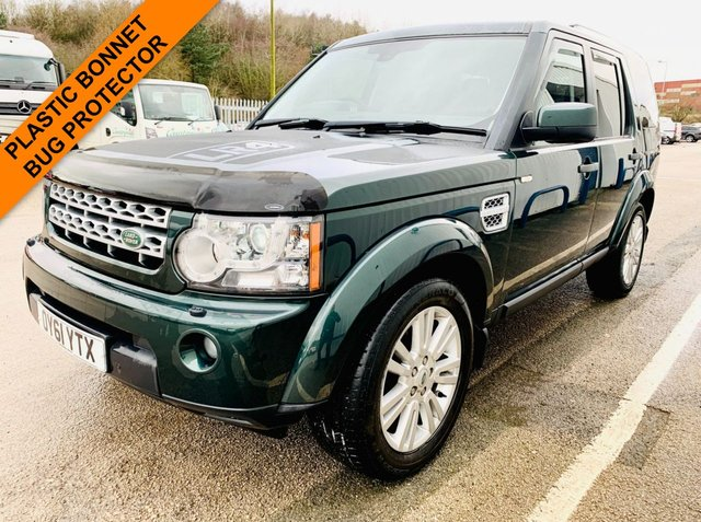 USED 2011 61 LAND ROVER DISCOVERY 3.0 4 SDV6 XS 5d 255 BHP FULL SERVICE HISTORY WITH 12 STAMPS - TIMING BELT DONE JUNE 2020 - 12 MONTH MOT -SATELLITE NAVIGATION - HEATED LEATHER SEATS - PREMIUM SOUND - 3 MONTH GOLD WARRANTY