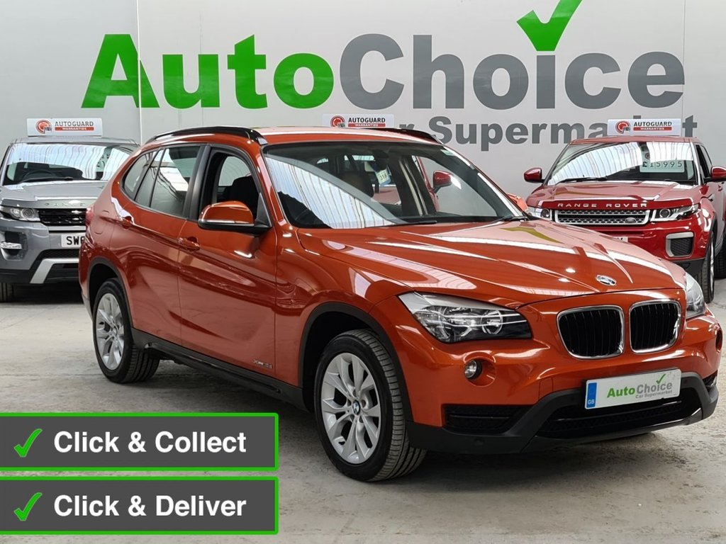 USED 2013 63 BMW X1 2.0 XDRIVE18D SPORT 5d 141 BHP