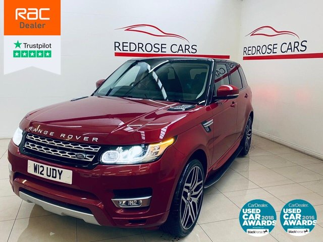 USED 2015 W LAND ROVER RANGE ROVER SPORT 3.0 SDV6 HSE 5d 288 BHP FULL SRVC, BLUETOOTH, NICE CAR