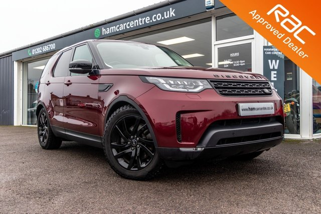 2017 17 LAND ROVER DISCOVERY 3.0 TD6 HSE 5d 255 BHP BLACK STYLING PACK