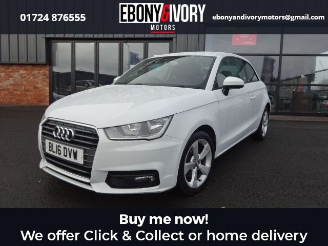 USED 2016 16 AUDI A1 1.6 TDI SPORT 3d 114 BHP FULLY SERVICED+1 YEAR MOT+BREAKDOWN COVER
