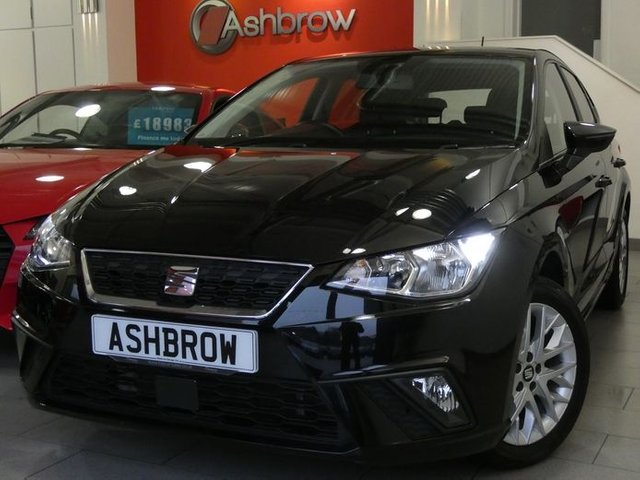 USED 2017 67 SEAT IBIZA 1.0 TSI SE 5d 95 S/S FULL SERVICE HISTORY, UPGRADE 16 INCH ALLOY WHEELS, BLUETOOTH PHONE & MUSIC STREAMING, LED DAYTIME RUNNING LIGHTS, FRONT FOG LIGHTS, MANUAL 5 SPEED GEARBOX, START STOP TECHNOLOGY, GREY CLOTH INTERIOR, LEATHER MULTIFUNCTION STEERING WHEEL, SPEED LIMITER, FRONT ASSIST AMBIENT TRAFFIC MONITORING, AUTO LIGHTS, AIR CONDITIONING, AUX & USB INPUTS, SD CARD READER, ELECTRIC WINDOWS, ELECTRIC DOOR MIRRORS, ISO FIX, 3x 3 POINT REAR SEAT BELTS, FOLDING REAR SEATS, MFD TRIP COMPUTER