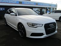 USED 2015 64 AUDI A6 2.0 AVANT TDI ULTRA BLACK EDITION 5d 188 BHP SAT/NAV, LEATHER, DAB, BLUETOOTH, TINTED GLASS, FRESHLY DIAMOND CUT ALLOYS, 5 SERVICES....
