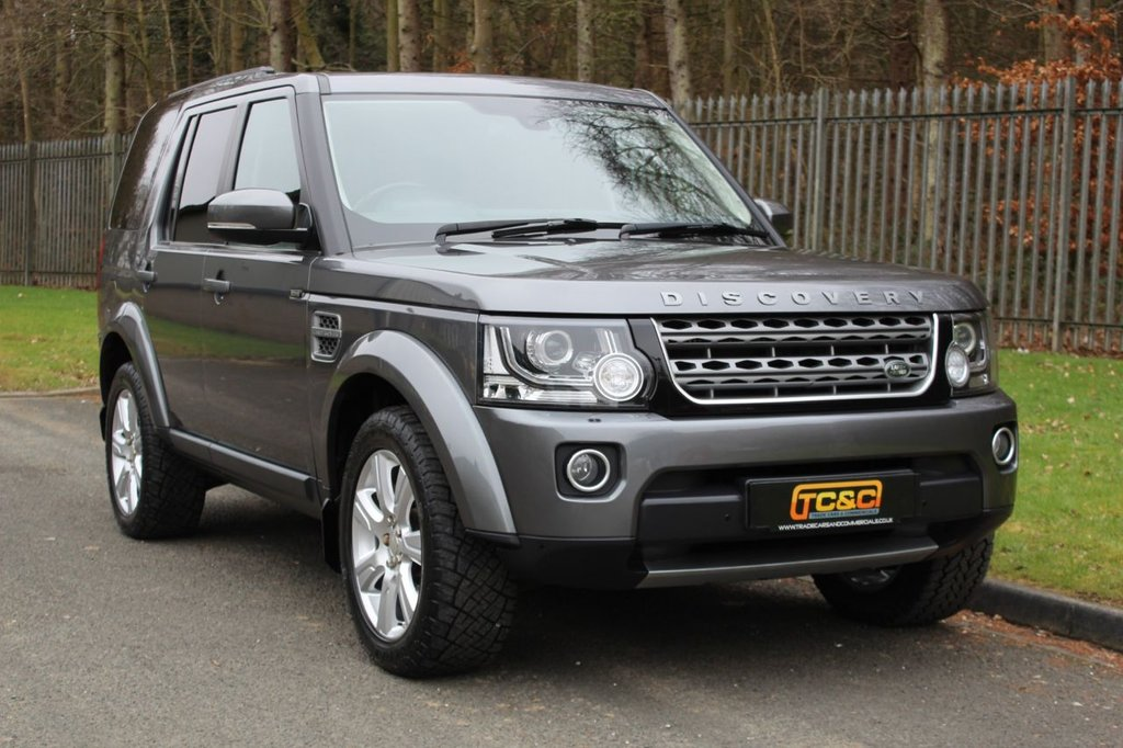 USED 2015 64 LAND ROVER DISCOVERY 3.0 SDV6 SE TECH 5d AUTO 255 BHP A CLEAN EXAMPLE WITH BLACK LEATHER, MERIAN AUDIO AND MORE!!!