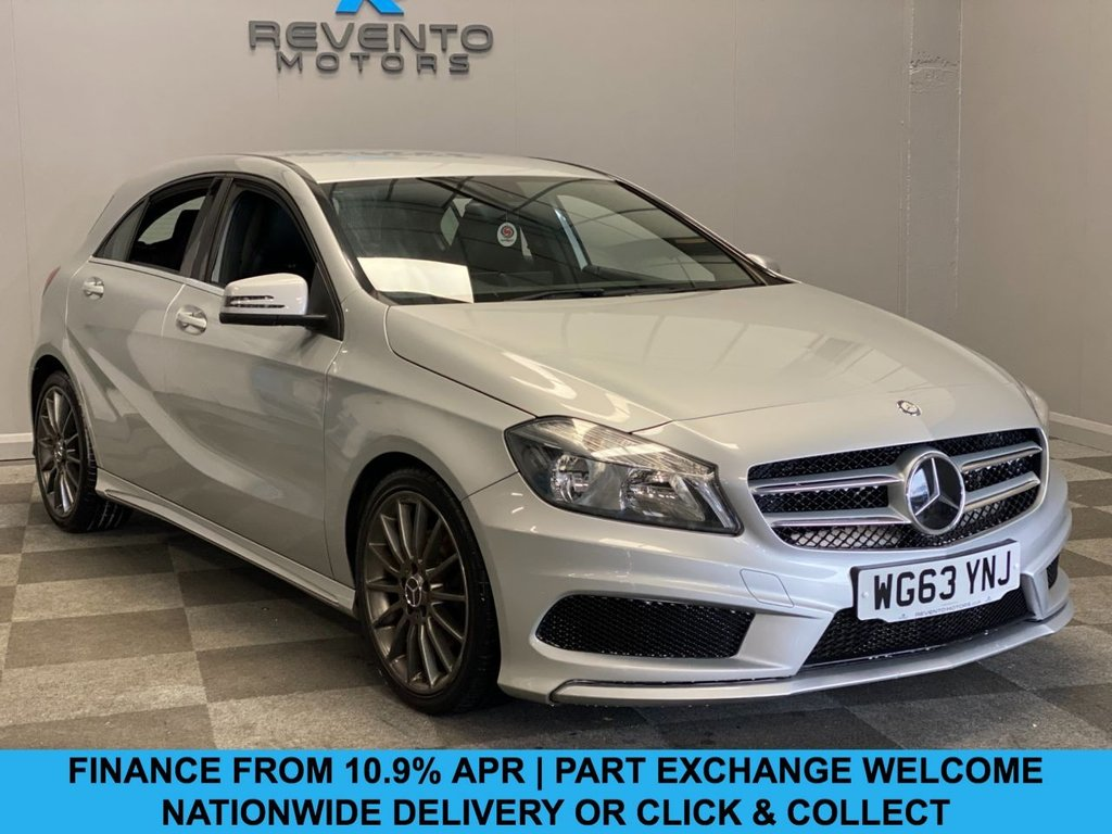 USED 2013 63 MERCEDES-BENZ A-CLASS 1.5 A180 CDI BLUEEFFICIENCY AMG SPORT 5d 109 BHP CLICK/COLLECT | NATIONWIDE DELIVERY